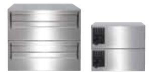 リンタツ(メーカー直送品) D-307VP-2 集合ポスト 壁貫通型 メカ式可変プッシュ錠 受注生産