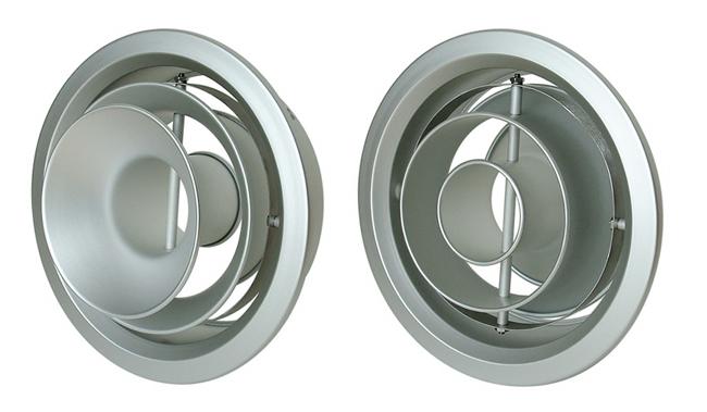 西邦工業 SEIHO NX16 空調用吹出口 アルミニウム製リバーシブルターボノズル