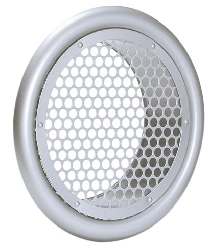 西邦工業 SEIHO SP300S 外壁用ステンレス製換気口 (フラットグリル) 丸パンチング型 8Φ×PITCH10