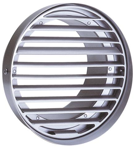 西邦工業 SEIHO SV250TS 外壁用ステンレス製換気口 (フラットグリル) 内向ガラリ型 水切り付 低圧損