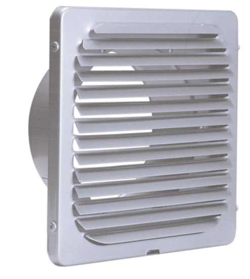西邦工業 SEIHO KX225S 外壁用ステンレス製換気口 (フラットグリル) 角型ガラリ 低圧損