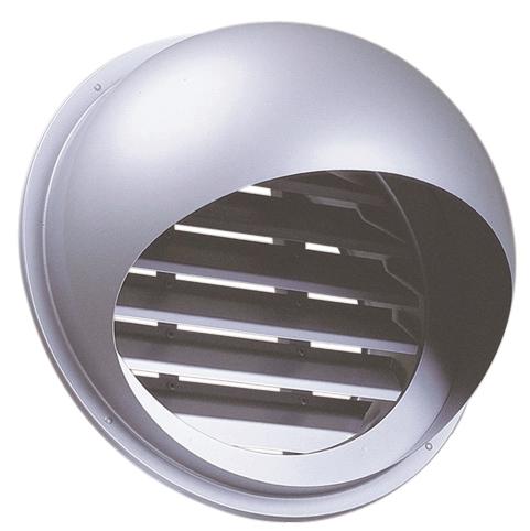 西邦工業 SEIHO SFL300S 外壁用ステンレス製換気口 (セルフード) 同芯内向ガラリ型 大口径