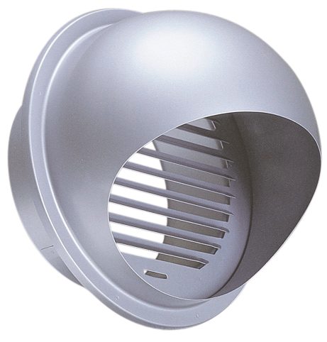 西邦工業 SEIHO SFX250S 外壁用ステンレス製換気口 (セルフード) 同芯ガラリ型 一般用