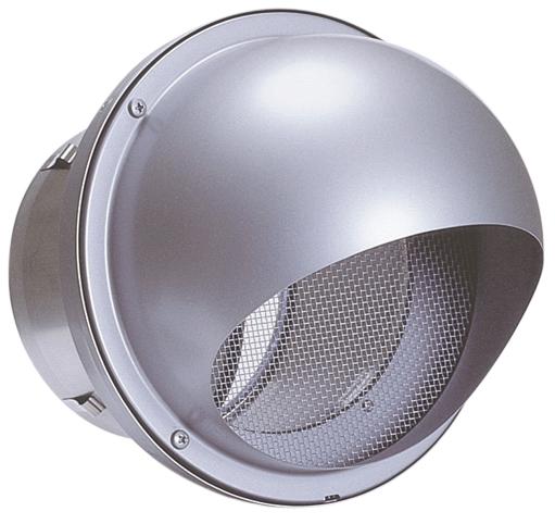 西邦工業 SEIHO AFND175SC 外壁用ステンレス製換気口 (セルフード) 同芯金網型10メッシュ 防火ダンパー付