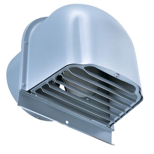西邦工業 SEIHO CFXD175SC 外壁用ステンレス製換気口 (深型フード) ガラリ型 下部開閉タイプ 防火ダンパー付