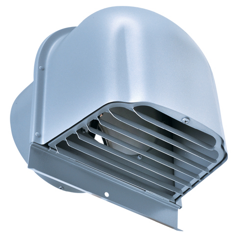 西邦工業 SEIHO CFXD250SC 外壁用ステンレス製換気口 (深型フード) ガラリ型 下部開閉タイプ 防火ダンパー付