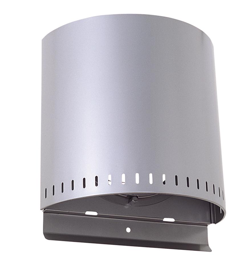 西邦工業 SEIHO NFX250S 外壁用ステンレス製換気口 (バイパスフード) ガラリ型 耐外風 低圧損