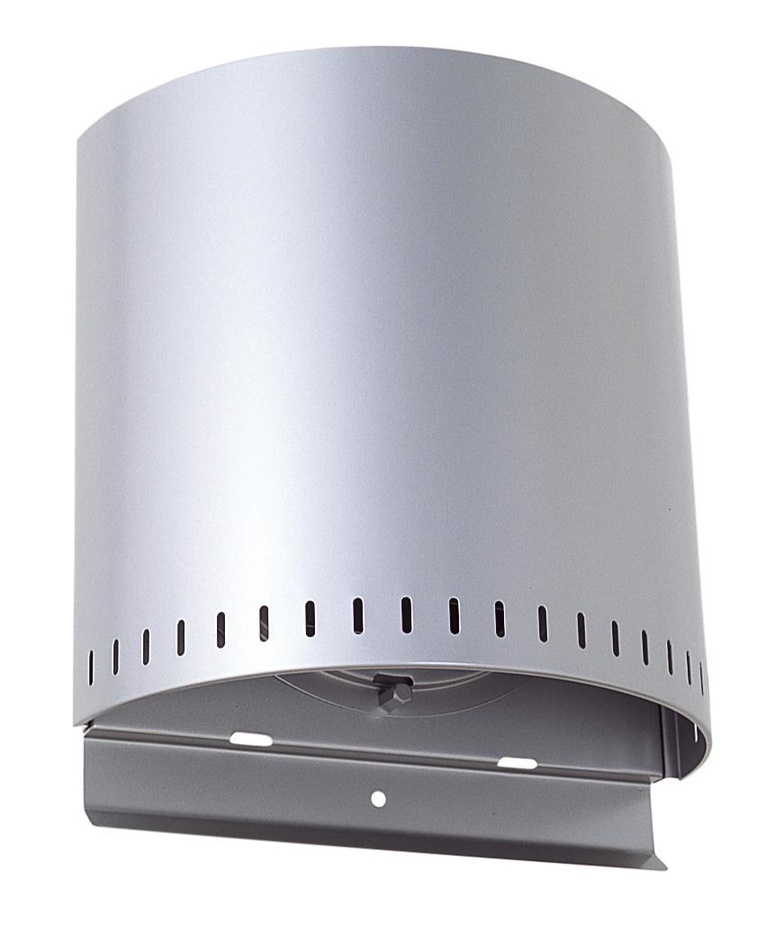 西邦工業 SEIHO NFXD175SC 外壁用ステンレス製換気口 (バイパスフード) ガラリ型 耐外風 防火ダンパー付
