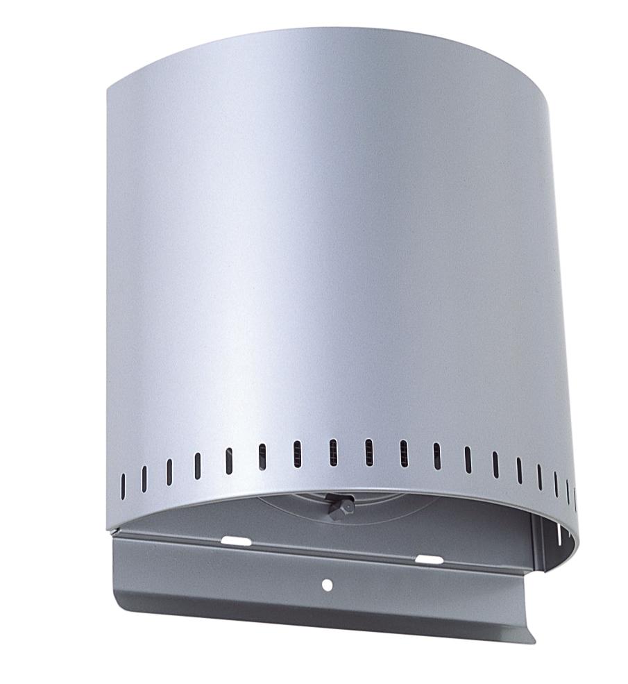 西邦工業 SEIHO NFND175SC 外壁用ステンレス製換気口 (バイパスフード) 金網型10メッシュ 耐外風 防火ダンパー付