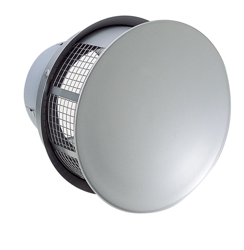 西邦工業 SEIHO RT200S 外壁用ステンレス製換気口 (パラボラ型) 金網型3メッシュ 耐外風 低圧損