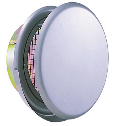 西邦工業 SEIHO SNBD200MS 外壁用ステンレス製換気口 (フラットカバー付換気口) 金網型3メッシュ ワイド水切り付 フラットカバー付 防火ダンパー付