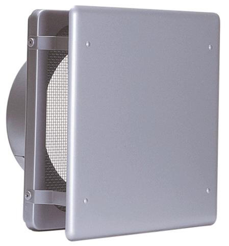 西邦工業 SEIHO KNB225S 外壁用ステンレス製換気口 (フラットカバー付換気口) 角金網型10メッシュ フラットカバー付 低圧損