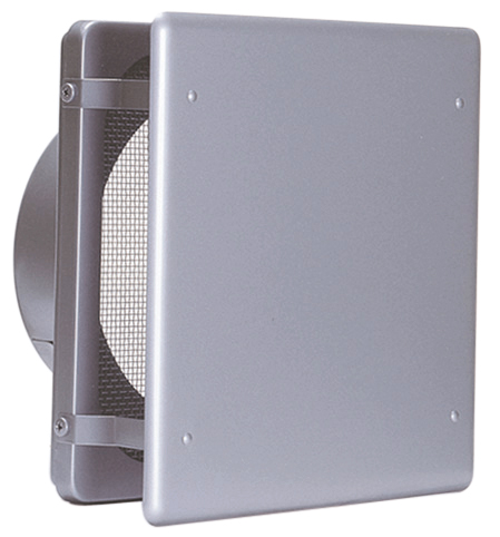 西邦工業 SEIHO KNB250S 外壁用ステンレス製換気口 (フラットカバー付換気口) 角金網型10メッシュ フラットカバー付 低圧損