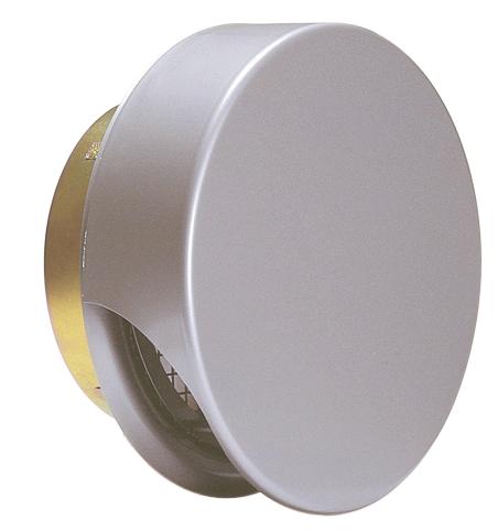 西邦工業 SEIHO SNUD200S 外壁用ステンレス製換気口 (薄型フラットフード) 金網型3メッシュ 薄型フード 防火ダンパー付