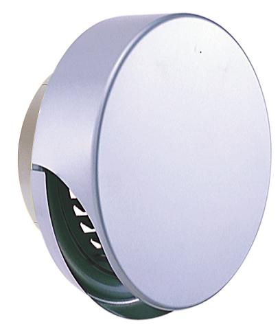 西邦工業 SEIHO SXU175MS 外壁用ステンレス製換気口 (薄型フラットフード) ガラリ型 薄型フード ワイド水切り付