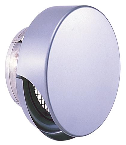 西邦工業 SEIHO SNU175MS 外壁用ステンレス製換気口 (薄型フラットフード) 金網型3メッシュ 薄型フード ワイド水切り付