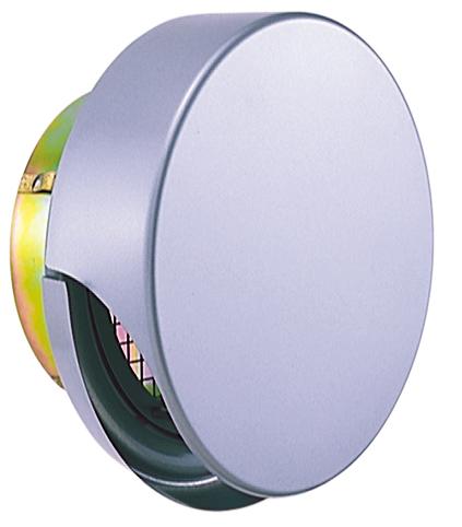 西邦工業 SEIHO SNUD200MS 外壁用ステンレス製換気口 (薄型フラットフード) 金網型3メッシュ 薄型フード ワイド水切り付 防火ダンパー付