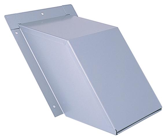 西邦工業 SEIHO KH150S 外壁用ステンレス製換気口 (セットバックフード) 金網型3メッシュ 傾斜角度1:1.25~1:1.5に対応