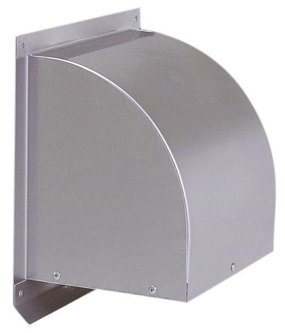 西邦工業 SEIHO WCD250S 外壁用ステンレス製換気口 (ウエザーカバー) 金網型3メッシュ 防火ダンパー付