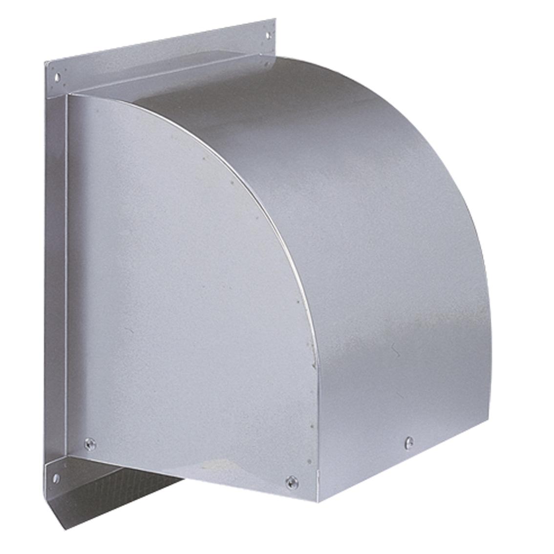 西邦工業 SEIHO WC550S 外壁用ステンレス製換気口 (ウエザーカバー) 金網型3メッシュ 大口径