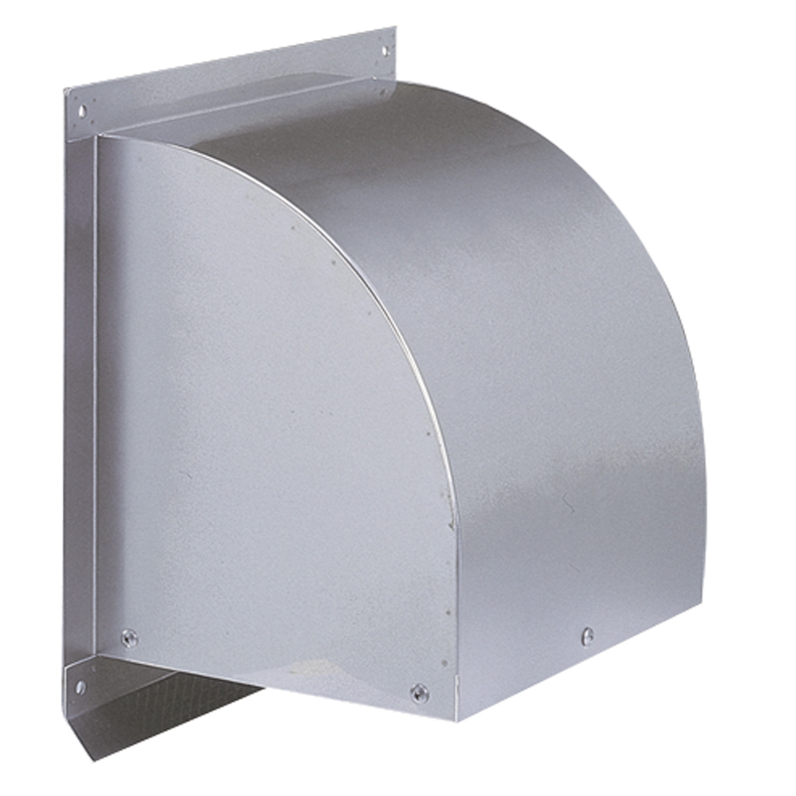 西邦工業 SEIHO WC600S 外壁用ステンレス製換気口 (ウエザーカバー) 金網型3メッシュ 大口径