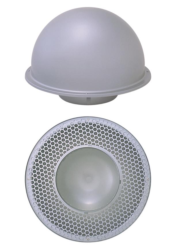 西邦工業 SEIHO TP225S 外壁用ステンレス製換気口 (縦管用パイプフード) 縦管用パイプフード