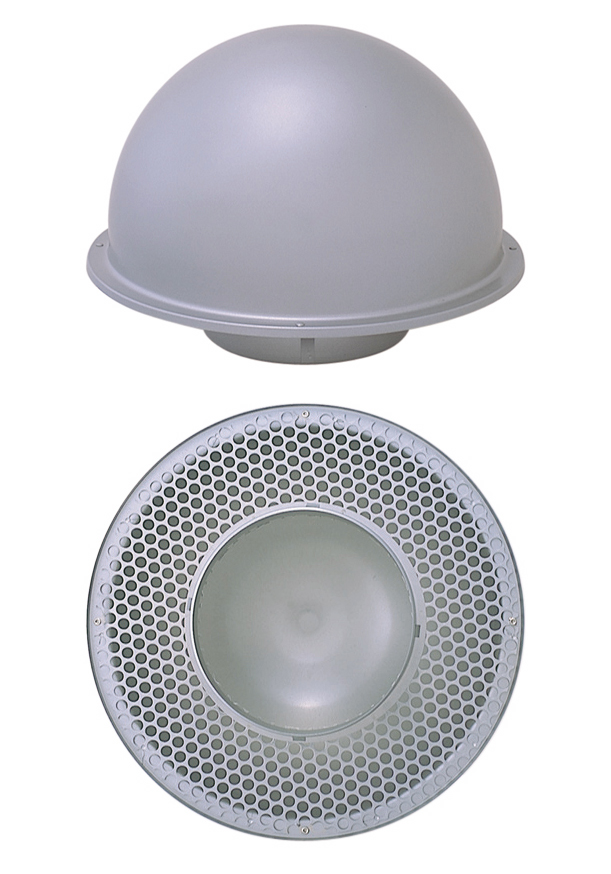 西邦工業 SEIHO TP250S 外壁用ステンレス製換気口 (縦管用パイプフード) 縦管用パイプフード