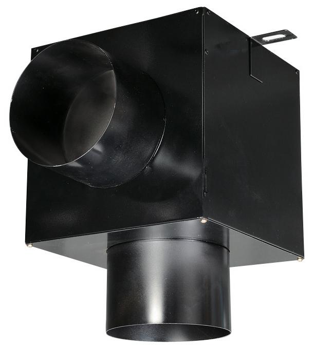 西邦工業 SEIHO NPB150S 外壁用ステンレス製換気口 (縦管用パイプフード) 軒天用換気ユニット(チャンバー方式)
