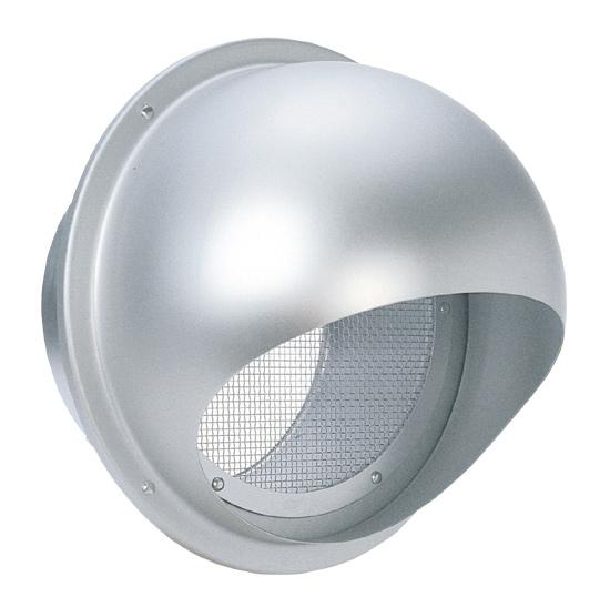 西邦工業 SEIHO SFN250 外壁用アルミ製換気口 (セルフード) 同芯金網10メッシュ