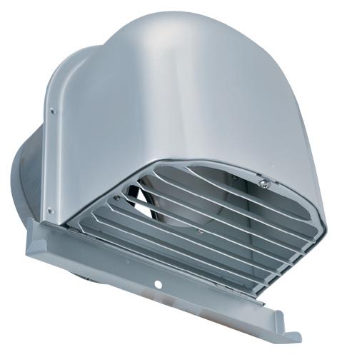 西邦工業 SEIHO CFXD175MC 外壁用アルミ製換気口 (深型フード(ワイド水切り付)) ガラリ型 下部開閉タイプ ワイド水切り付 防火ダンパー付