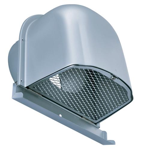 西邦工業 SEIHO CFN200M 外壁用アルミ製換気口 (深型フード(ワイド水切り付)) 金網型 7×14ラス網 下部開閉タイプ ワイド水切り付