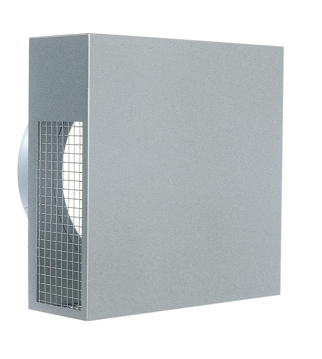 西邦工業 SEIHO KKNK125S-VP 外壁用ステンレス製換気口 (パイプフード) 金網型4メッシュ 低圧損