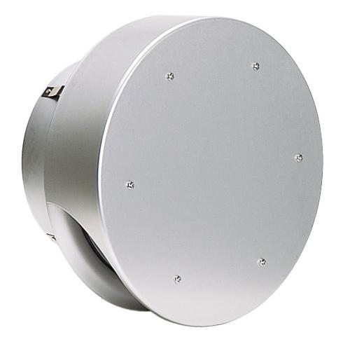 西邦工業 SEIHO SNU250 外壁用アルミ製換気口 (薄型フラットフード) 薄型フード 金網型3メッシュ