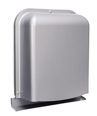 西邦工業 SEIHO GFXD150GBSC 防音型製品(ステンレス製換気口(ワイド水切り付)) 深型 薄型 ガラリ型 防音タイプ 下部開閉タイプ 防火ダンパー付