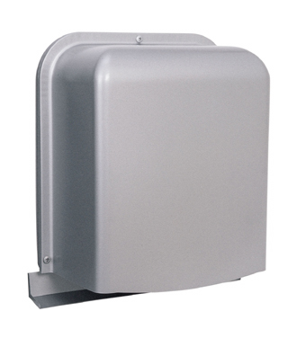 西邦工業 SEIHO GFX125BS 防音型製品(ステンレス製換気口(ワイド水切り付)) 深型 厚型 ガラリ型 防音タイプ 下部開閉タイプ