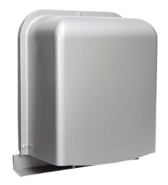 西邦工業 SEIHO GFN125BYS 防音型製品(ステンレス製換気口(ワイド水切り付)) 深型 厚型 排気用 金網3メッシュ 防音タイプ 下部開閉タイプ