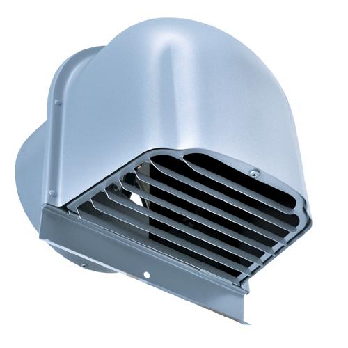 西邦工業 SEIHO CFXD125WSC-VP 受注生産 2管路用換気口(ステンレス製仕切り付) 仕切り付深型フード ガラリ型 下部開閉タイプ 防火ダンパー付