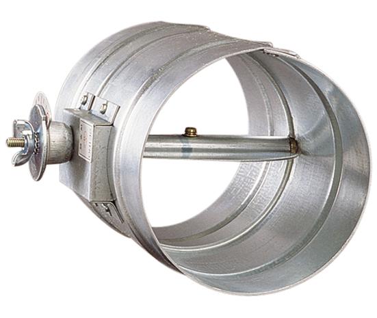 西邦工業 SEIHO VD225S 受注生産 ダンパー(風量調整用ダンパー) ステンレス製 風量調整用 フューズ無し ダクト接続型