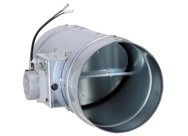 西邦工業 SEIHO MRD125 受注生産 ダンパー(電動ダンパー) 鋼板製モーターダンパー 開閉式 フューズ無し 2線式