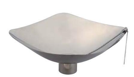 宝泉製作所 SENSUI 泉水 WATER POT 410G 水鉢 ステンレス 角鉢