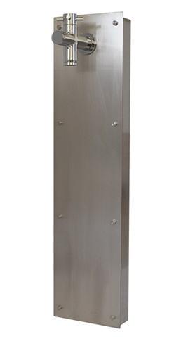 直送商品 宝泉製作所 SENSUI SENSUI 泉水 WATER POST 630H-1 押込型水栓柱 押込型水栓柱 宝泉製作所 フラットウォール シルバー 1口タイプ, KIARA Rose-STONE:e835de08 --- gerber-bodin.fr