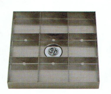 宝泉製作所 SENSUI 泉水 WATER POT 414G 水鉢 フラット300