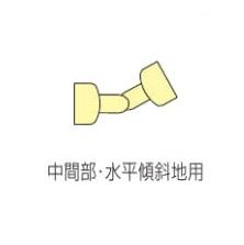 四国化成 屋外手すりパネルタイプ パネル取付金具 端部用 SJ-TKK-SC 2ヶ入