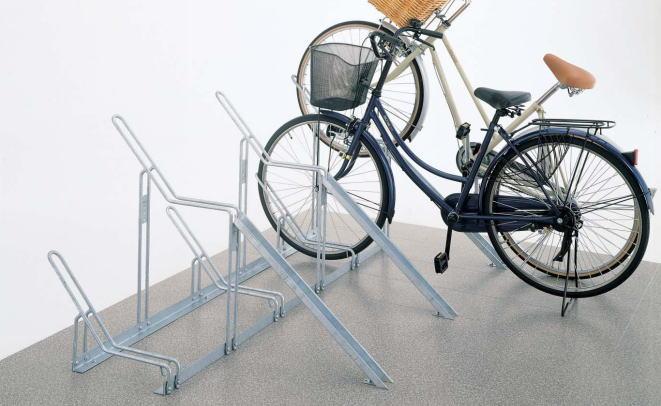 四国化成 サイクルラック1型 CLRK1-6 6台用 自転車スタンド ※