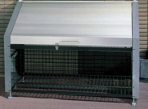 四国化成 ゴミストッカー EF型 GSEF-1812GM 基本セット ※