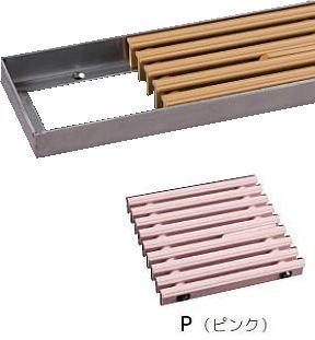 シマブン GRSS-20L600S-P セーフティグレーチング スリットタイプ 吹き出口枠(皿モミ仕様) 枠共