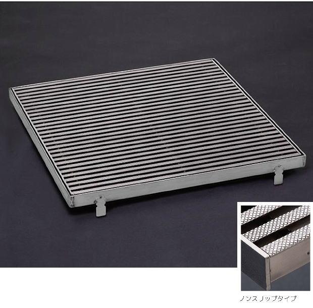 シマブン GST-20K400-D Tバー ステンレスグレーチング Tバー集水マス(枠共) ノンスリップ