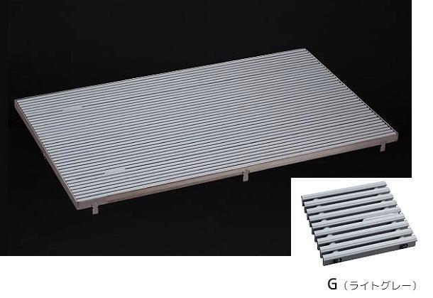 シマブン GRZ-25W591-G 樹脂製すのこグレーチング SUGRA 枠別売
