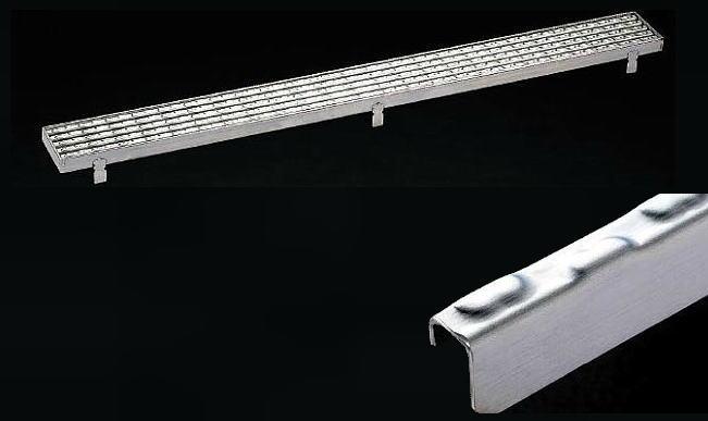 シマブン GSE-L2000-D 玄関排水Lアングル枠仕様 ノンスリップタイプ