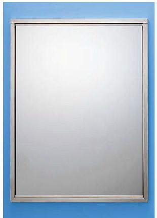 国内在庫 代引不可 シマブン KSS-4590 四方枠金具タイプ KAGAN ステンレス製鏡 宅送